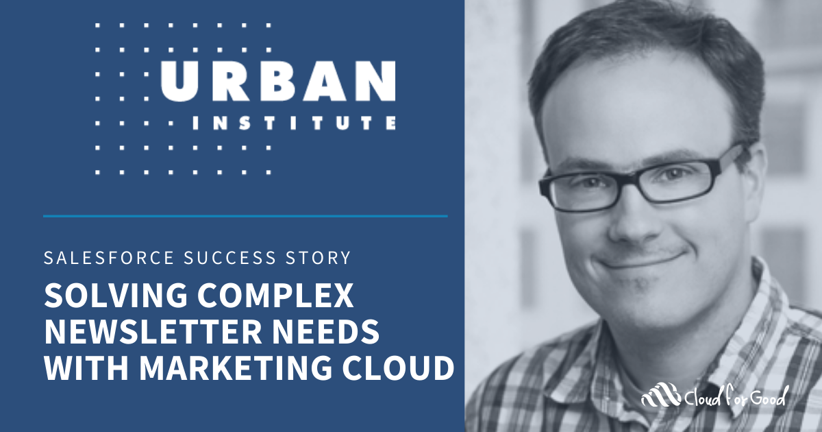 Newsletter with Marketing Cloud