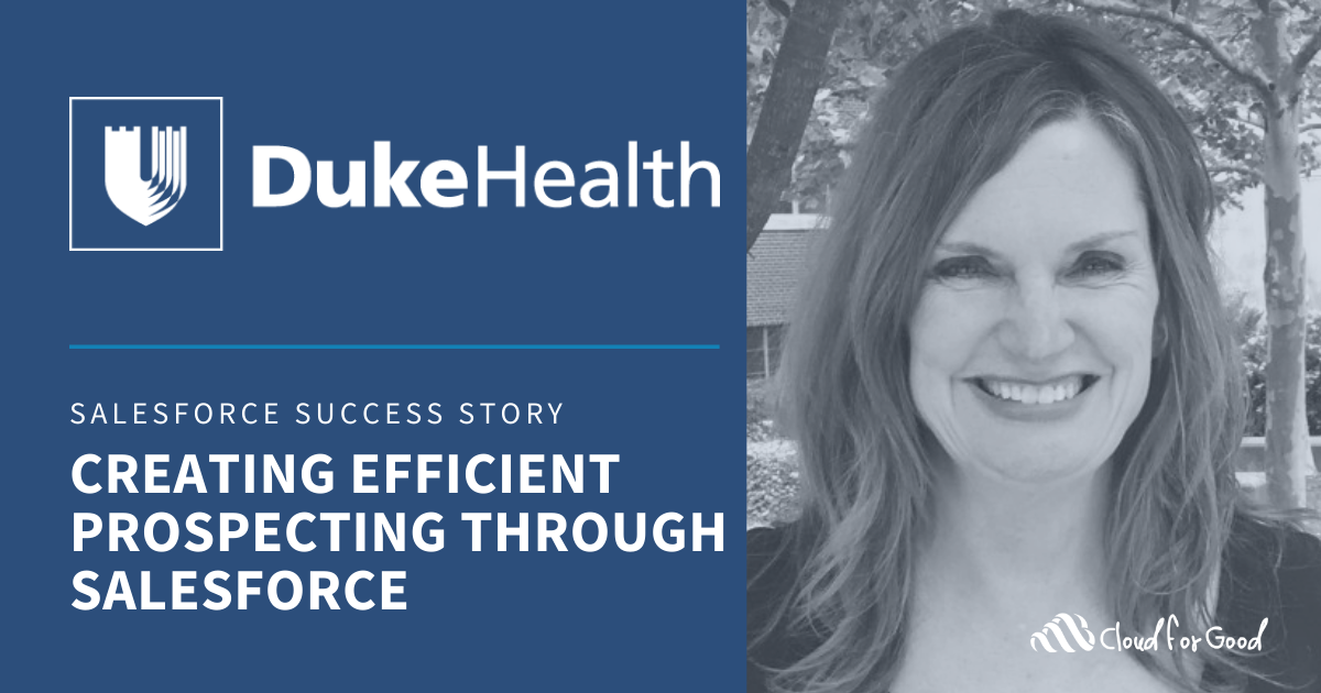 Duke health Salesforce