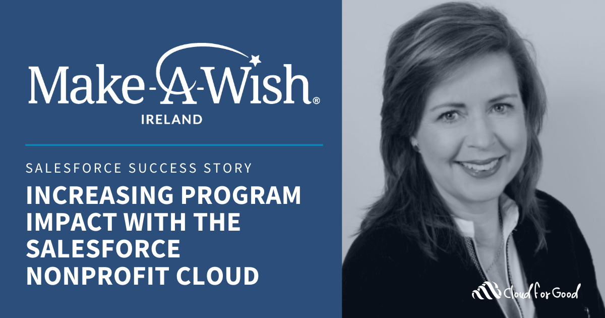 Increase program impact with Salesforce
