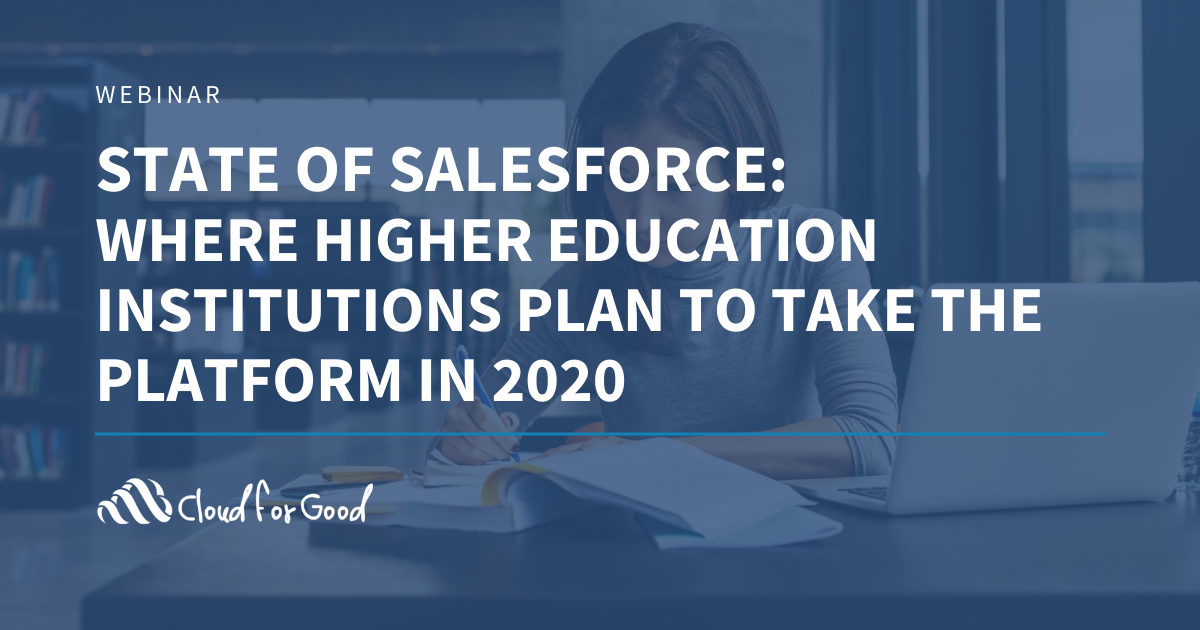 State of Salesforce 2020 HED