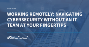 Cyber security while working from home