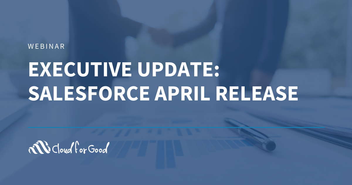 Salesforce April Release