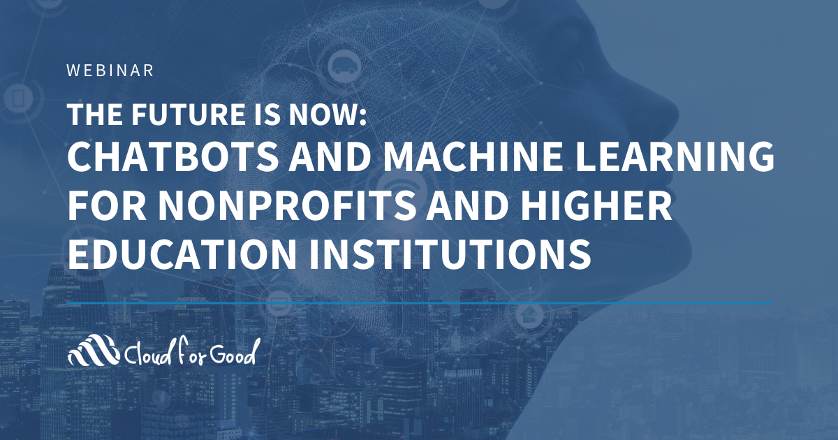 Ai for Nonprofits and higher ed