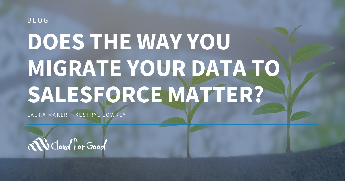 Migrating Data to Salesforce