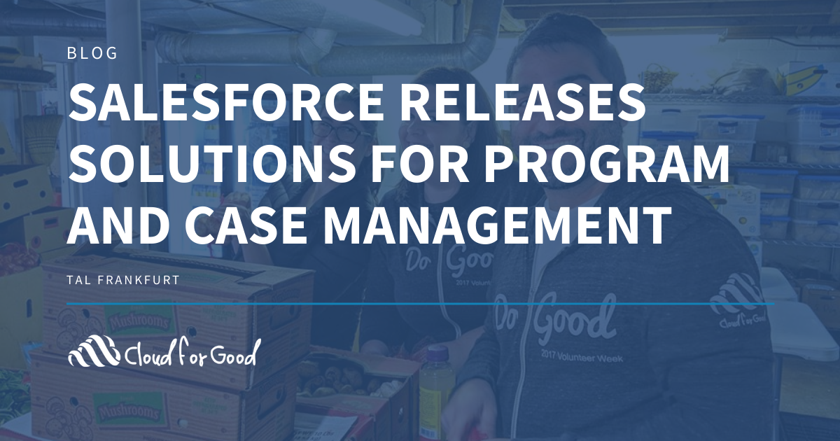 Case Program management Salesforce