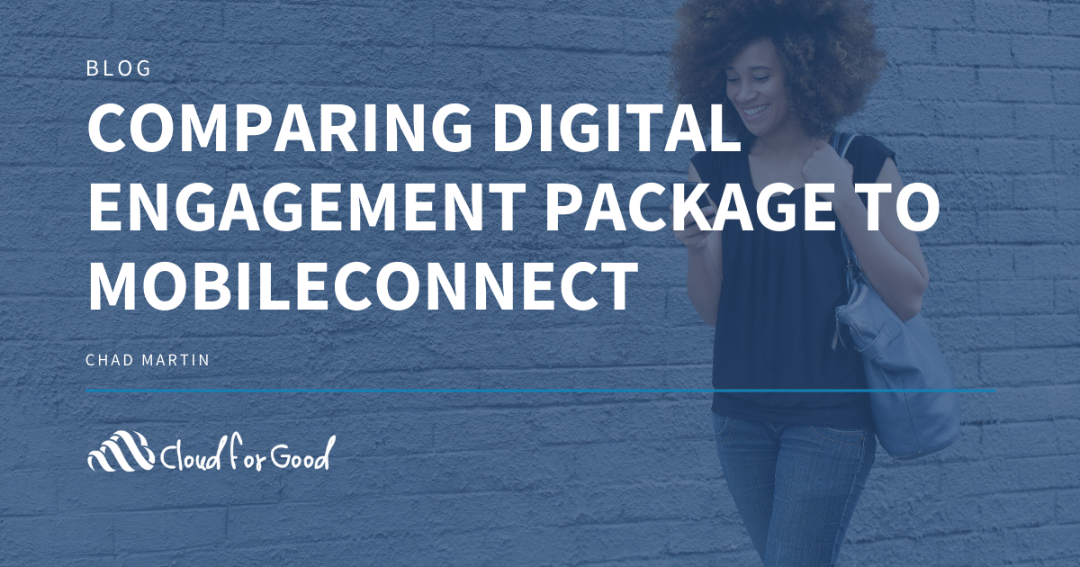 Digital Engagement Package vs MobileConnect