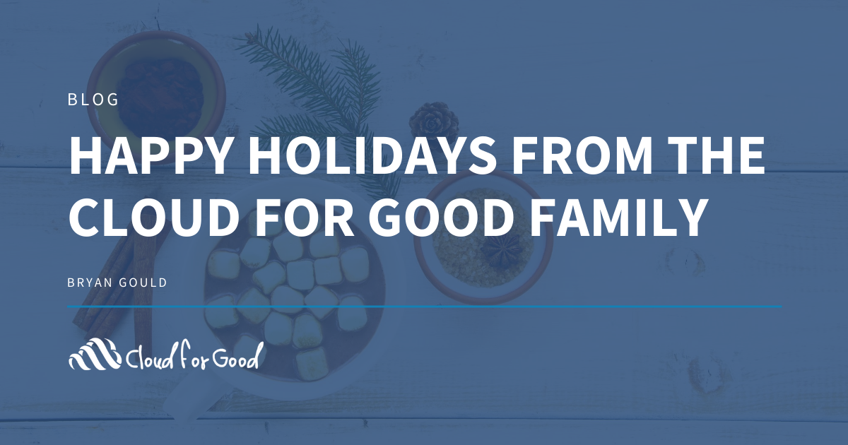 Happy Holidays From the Cloud for Good Family