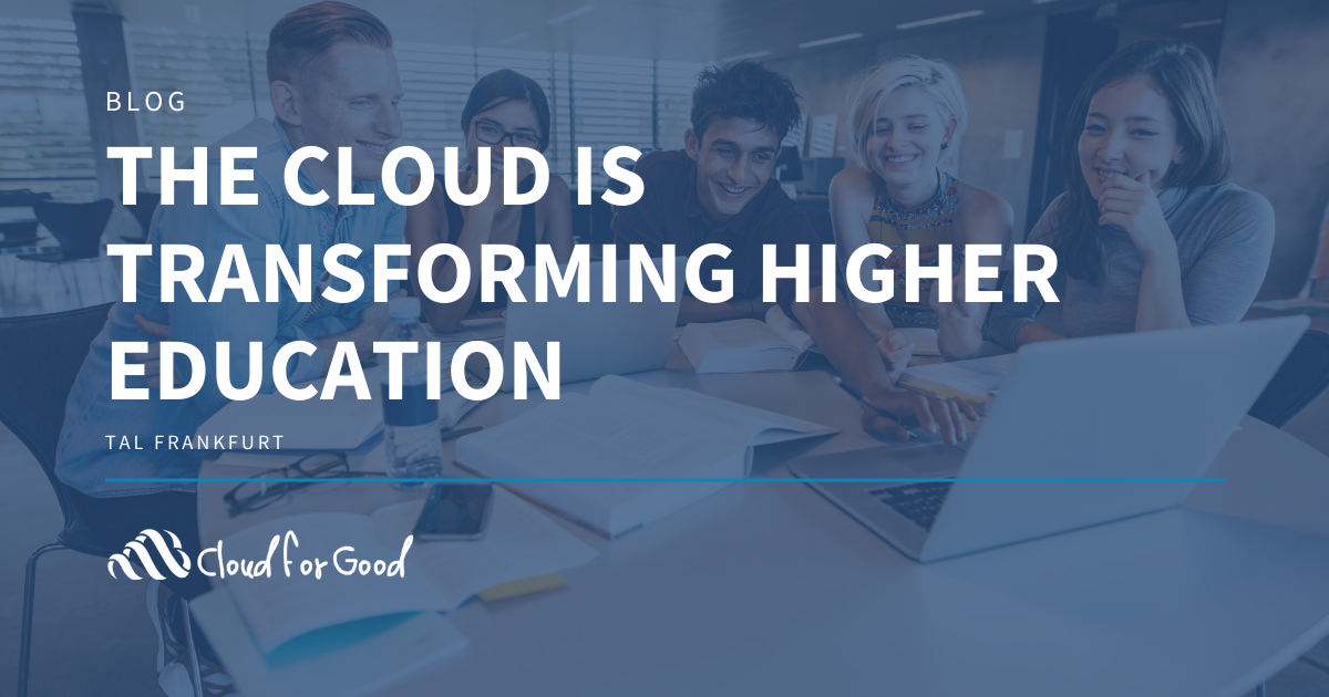 The Cloud Is Transforming Higher Education
