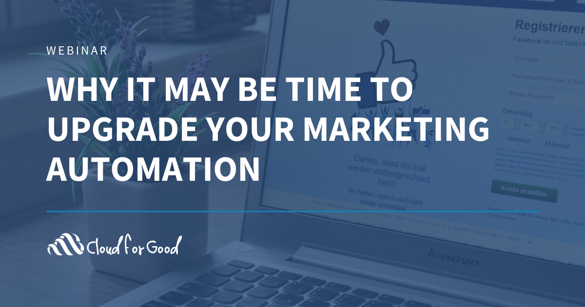 Upgrade marketing automation