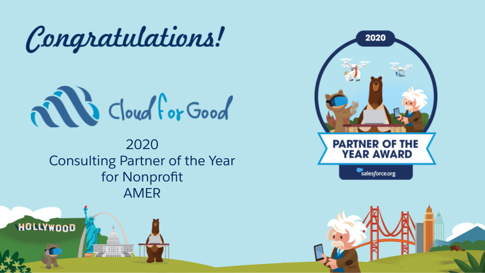 Cloud for Good Named Salesforce.org 2020 Nonprofit Consulting Partner of the Year