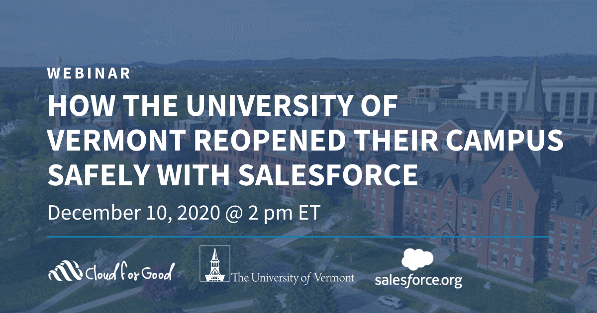 CFG Webinar_Reopening Your Campus With UVM