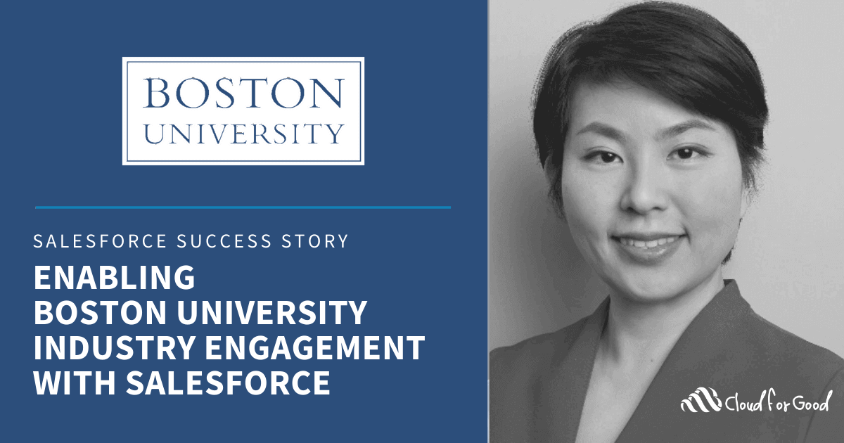 Enabling Boston University Industry Engagement with Salesforce