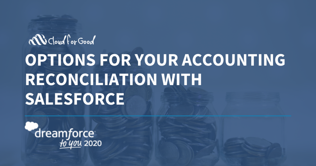 Accounting Reconciliation - Dreamforce to You
