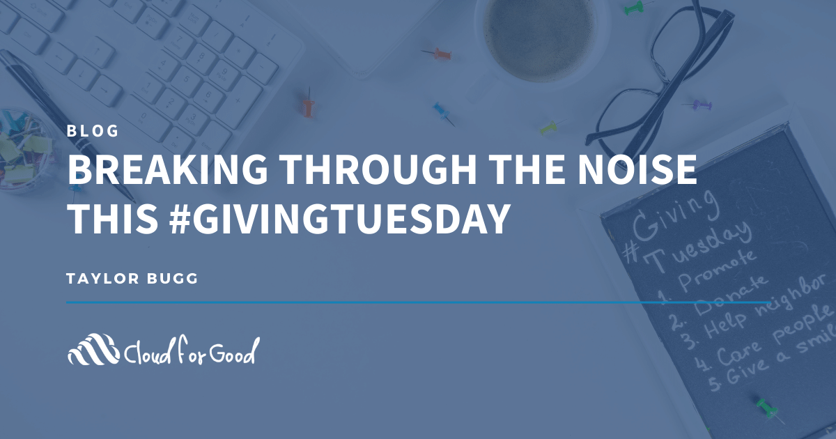 Giving tuesday promo plan