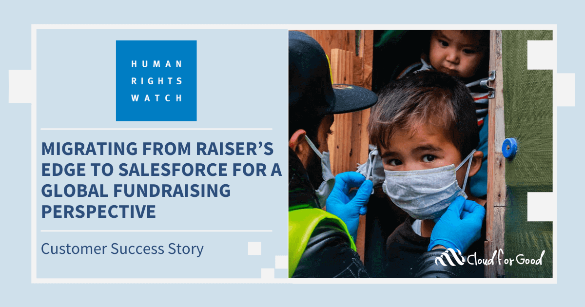 Human Rights Watch Salesforce Success Story