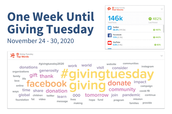 One Week Until Giving Tuesday