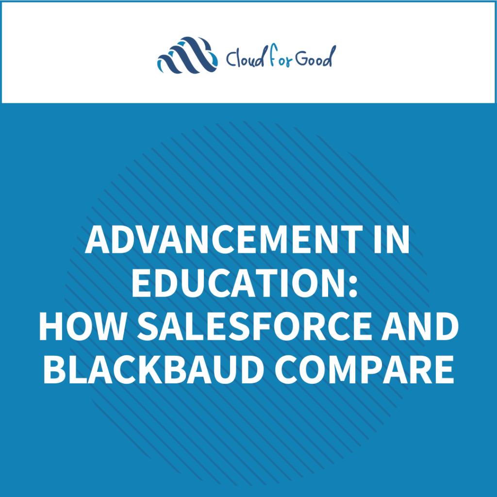 How Blackbaud and Salesforce compare