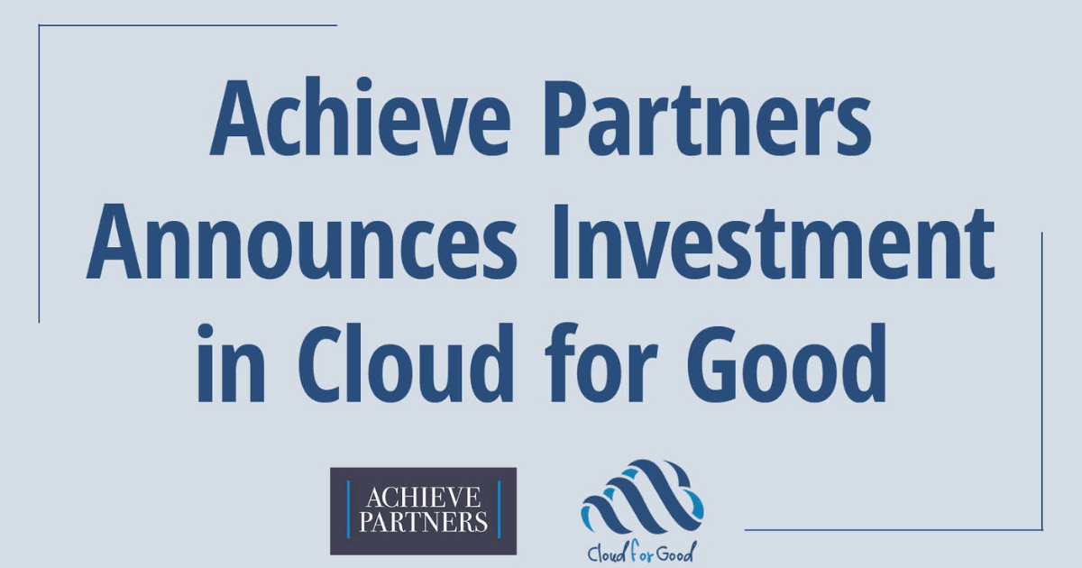 CFG_Blog 2021 Achieve Partners and Cloud for Good PR