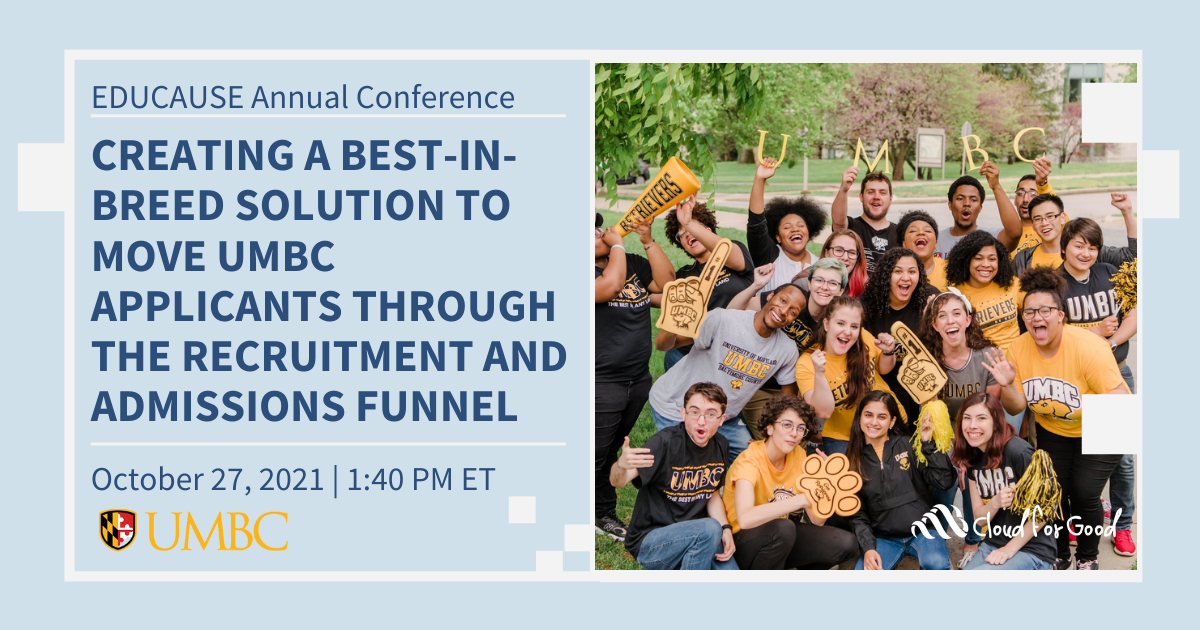 Creating a Best-In-Breed Solution to Move Applicants through the Recruitment and Admissions Funnel