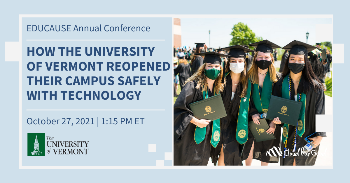How the University of Vermont Reopened Their Campus Safely with Technology